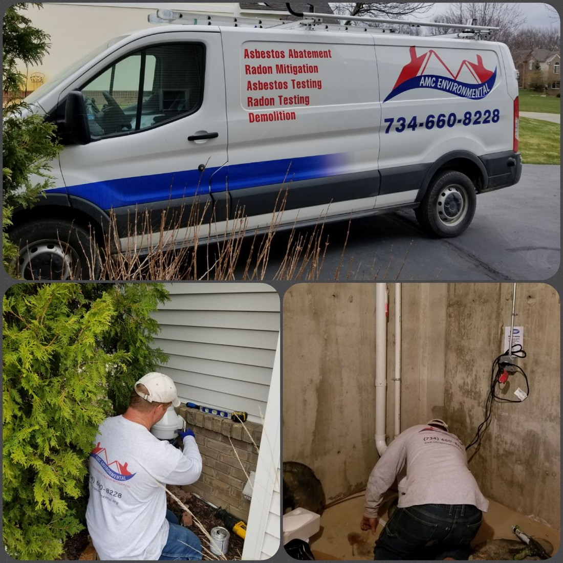 AMC Environmental: Residential & Commercial Asbestos, Mold, Radon & Lead Specialist - Radon_Howell